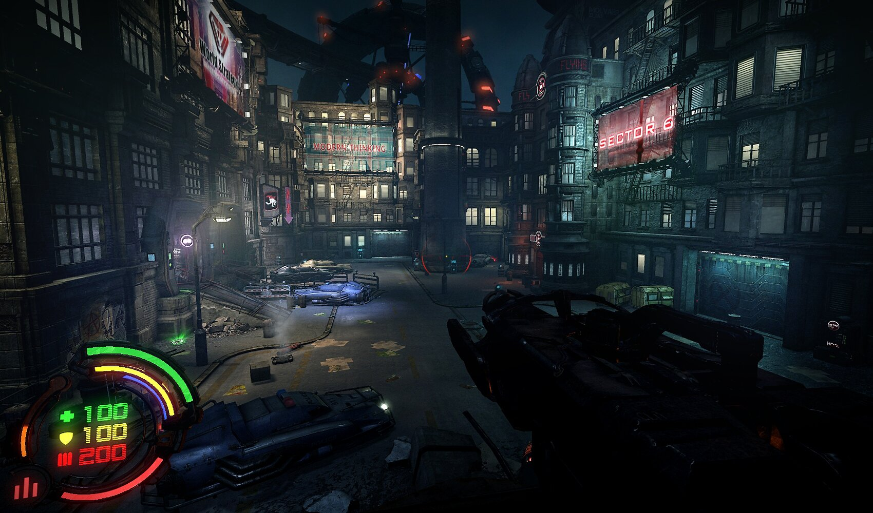 Hard Reset The Cyberpunk Fps From Flying Wild Hog